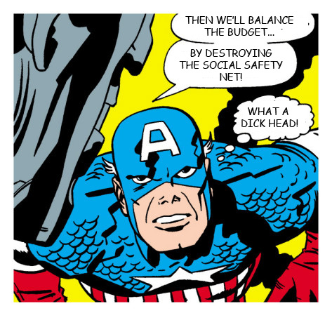 Captain America thinks Paul Ryan is a dickhead.