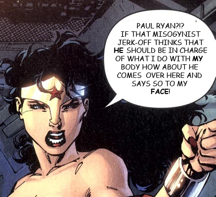 Wonder Woman has some choice words for Paul Ryan